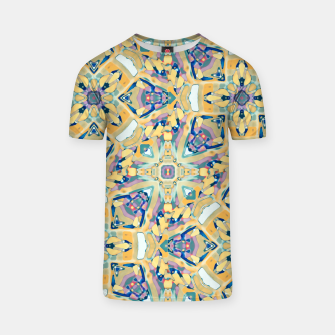 Miniature de image de Colorful Exotic Ornate Print T-shirt, Live Heroes