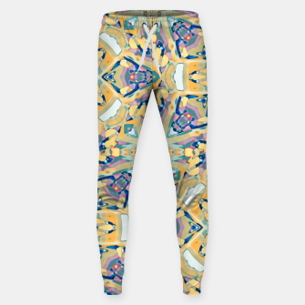 Miniature de image de Colorful Exotic Ornate Print Sweatpants, Live Heroes