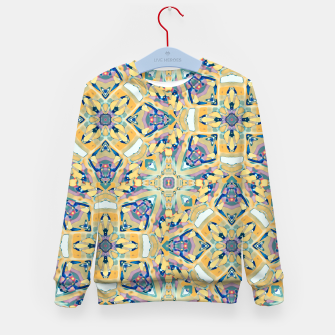 Miniature de image de Colorful Exotic Ornate Print Kid's sweater, Live Heroes