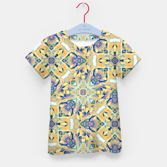 Thumbnail image of Colorful Exotic Ornate Print Kid's t-shirt, Live Heroes