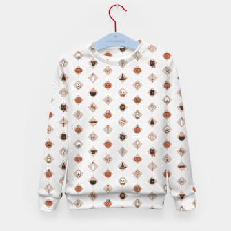 Thumbnail image of Halloween Party Night Secret Ingredients Kid's sweater, Live Heroes