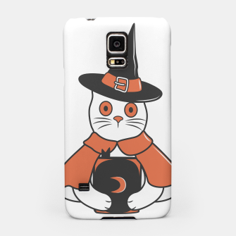 Thumbnail image of Cat Spell Master on Halloween Samsung Case, Live Heroes