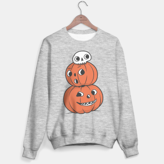 Thumbnail image of Halloween Pumpkin Pyramid Sweater regular, Live Heroes