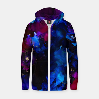 Thumbnail image of Edge of Creation Zip up hoodie, Live Heroes