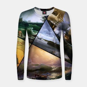 Imagen en miniatura de Old Masters Paintings VOL 01 Seascapes Women sweater, Live Heroes