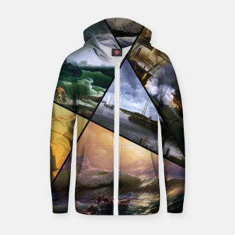 Imagen en miniatura de Old Masters Paintings VOL 01 Seascapes Zip up hoodie, Live Heroes