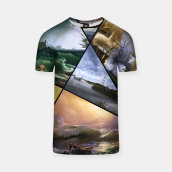 Imagen en miniatura de Old Masters Paintings VOL 01 Seascapes T-shirt, Live Heroes