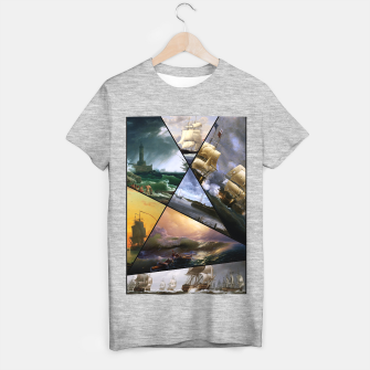 Imagen en miniatura de Old Masters Paintings VOL 01 Seascapes T-shirt regular, Live Heroes