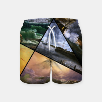 Imagen en miniatura de Old Masters Paintings VOL 01 Seascapes Swim Shorts, Live Heroes