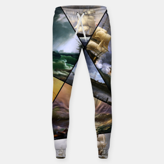 Imagen en miniatura de Old Masters Paintings VOL 01 Seascapes Sweatpants, Live Heroes