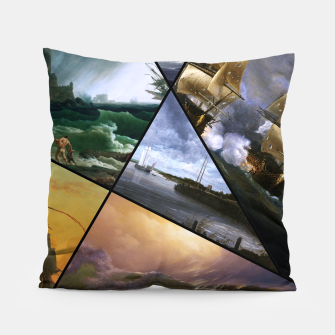 Imagen en miniatura de Old Masters Paintings VOL 01 Seascapes Pillow, Live Heroes