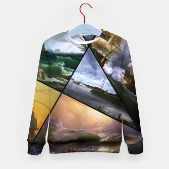 Imagen en miniatura de Old Masters Paintings VOL 01 Seascapes Kid's sweater, Live Heroes