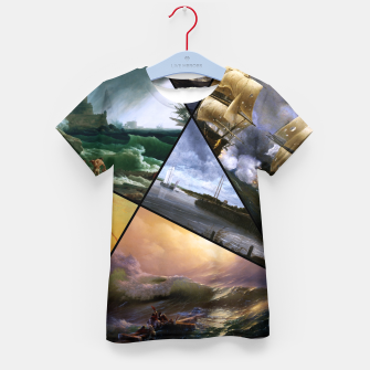 Imagen en miniatura de Old Masters Paintings VOL 01 Seascapes Kid's t-shirt, Live Heroes