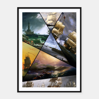 Imagen en miniatura de Old Masters Paintings VOL 01 Seascapes Framed poster, Live Heroes