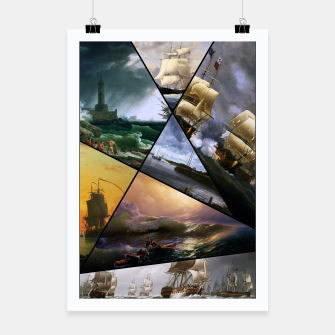 Imagen en miniatura de Old Masters Paintings VOL 01 Seascapes Poster, Live Heroes