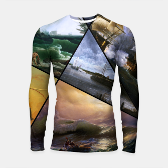 Imagen en miniatura de Old Masters Paintings VOL 01 Seascapes Longsleeve rashguard , Live Heroes