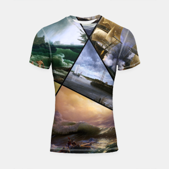 Imagen en miniatura de Old Masters Paintings VOL 01 Seascapes Shortsleeve rashguard, Live Heroes