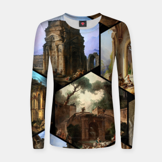 Imagen en miniatura de Old Masters Paintings VOL 02 Architecture Women sweater, Live Heroes