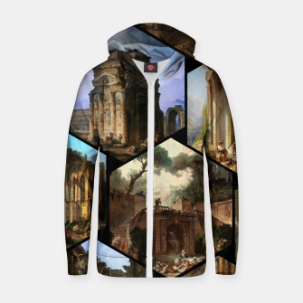 Imagen en miniatura de Old Masters Paintings VOL 02 Architecture Zip up hoodie, Live Heroes