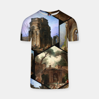 Imagen en miniatura de Old Masters Paintings VOL 02 Architecture T-shirt, Live Heroes