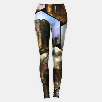 Miniaturka Old Masters Paintings VOL 02 Architecture Leggings, Live Heroes