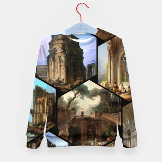 Imagen en miniatura de Old Masters Paintings VOL 02 Architecture Kid's sweater, Live Heroes