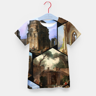 Imagen en miniatura de Old Masters Paintings VOL 02 Architecture Kid's t-shirt, Live Heroes