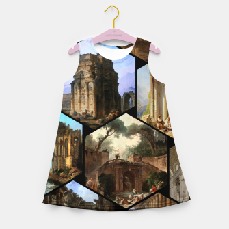 Imagen en miniatura de Old Masters Paintings VOL 02 Architecture Girl's summer dress, Live Heroes