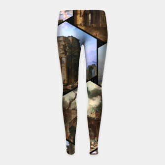 Imagen en miniatura de Old Masters Paintings VOL 02 Architecture Girl's leggings, Live Heroes