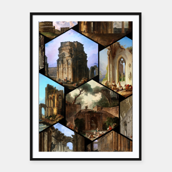 Imagen en miniatura de Old Masters Paintings VOL 02 Architecture Framed poster, Live Heroes