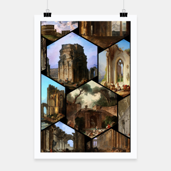 Imagen en miniatura de Old Masters Paintings VOL 02 Architecture Poster, Live Heroes