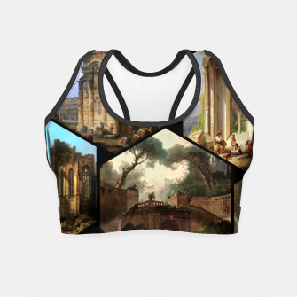 Imagen en miniatura de Old Masters Paintings VOL 02 Architecture Crop Top, Live Heroes