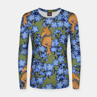 Thumbnail image of Fawn Galgos Women sweater, Live Heroes