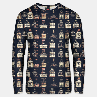 Thumbnail image of Alcoholic Drinks Pattern Unisex sweater, Live Heroes