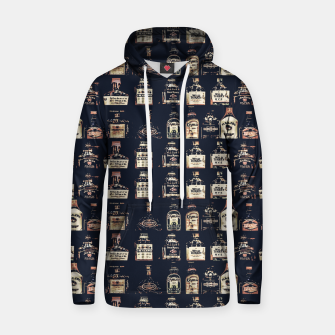 Alcoholic Drinks Pattern Hoodie thumbnail image