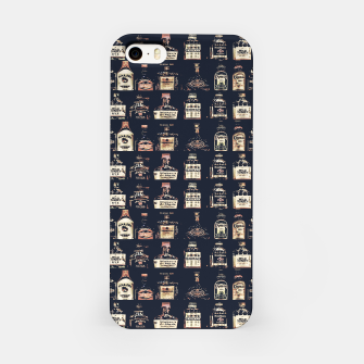 Alcoholic Drinks Pattern iPhone Case thumbnail image