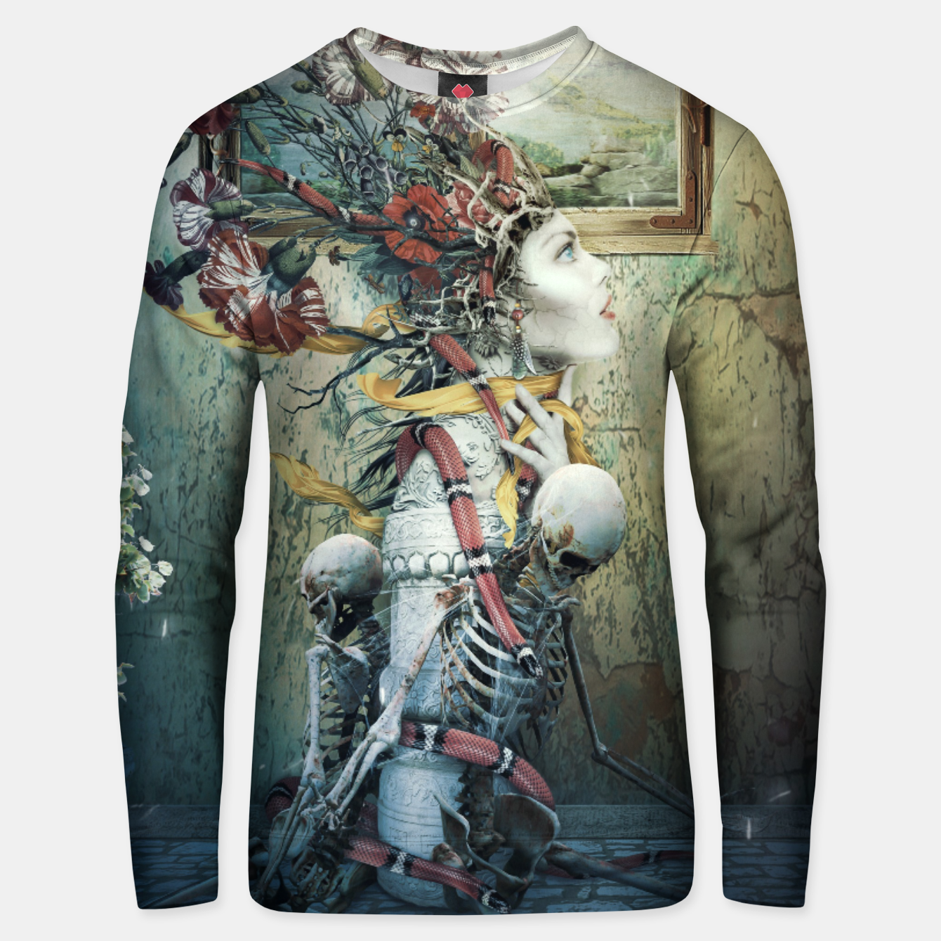 Image de Life in Death Unisex sweater - Live Heroes
