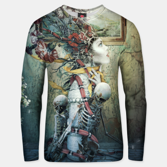 Thumbnail image of Life in Death Unisex sweater, Live Heroes