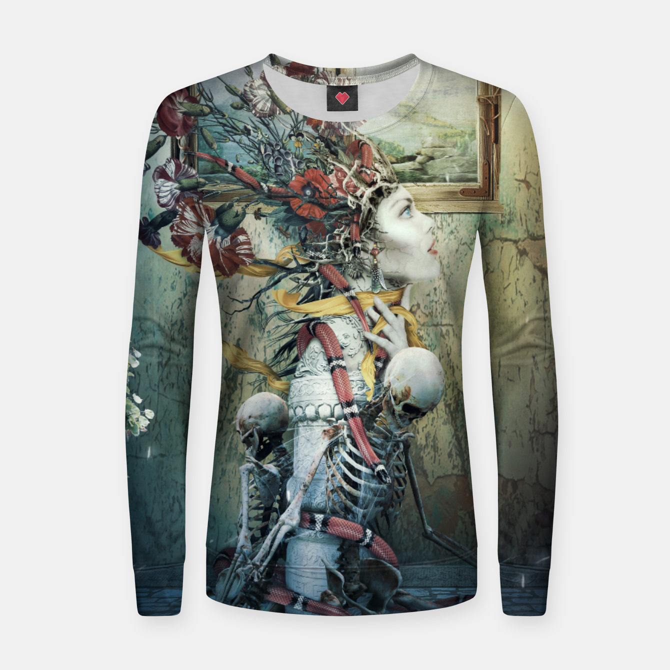 Image of Life in Death Women sweater - Live Heroes