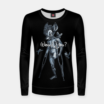 Miniaturka HAUNCH OF VENISON Women sweater, Live Heroes