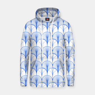 Thumbnail image of Art Deco Blue Hoodie, Live Heroes