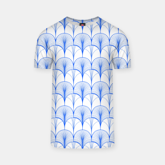 Thumbnail image of Art Deco Blue T-shirt, Live Heroes