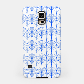 Thumbnail image of Art Deco Blue Samsung Case, Live Heroes