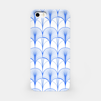 Imagen en miniatura de Art Deco Blue iPhone Case, Live Heroes