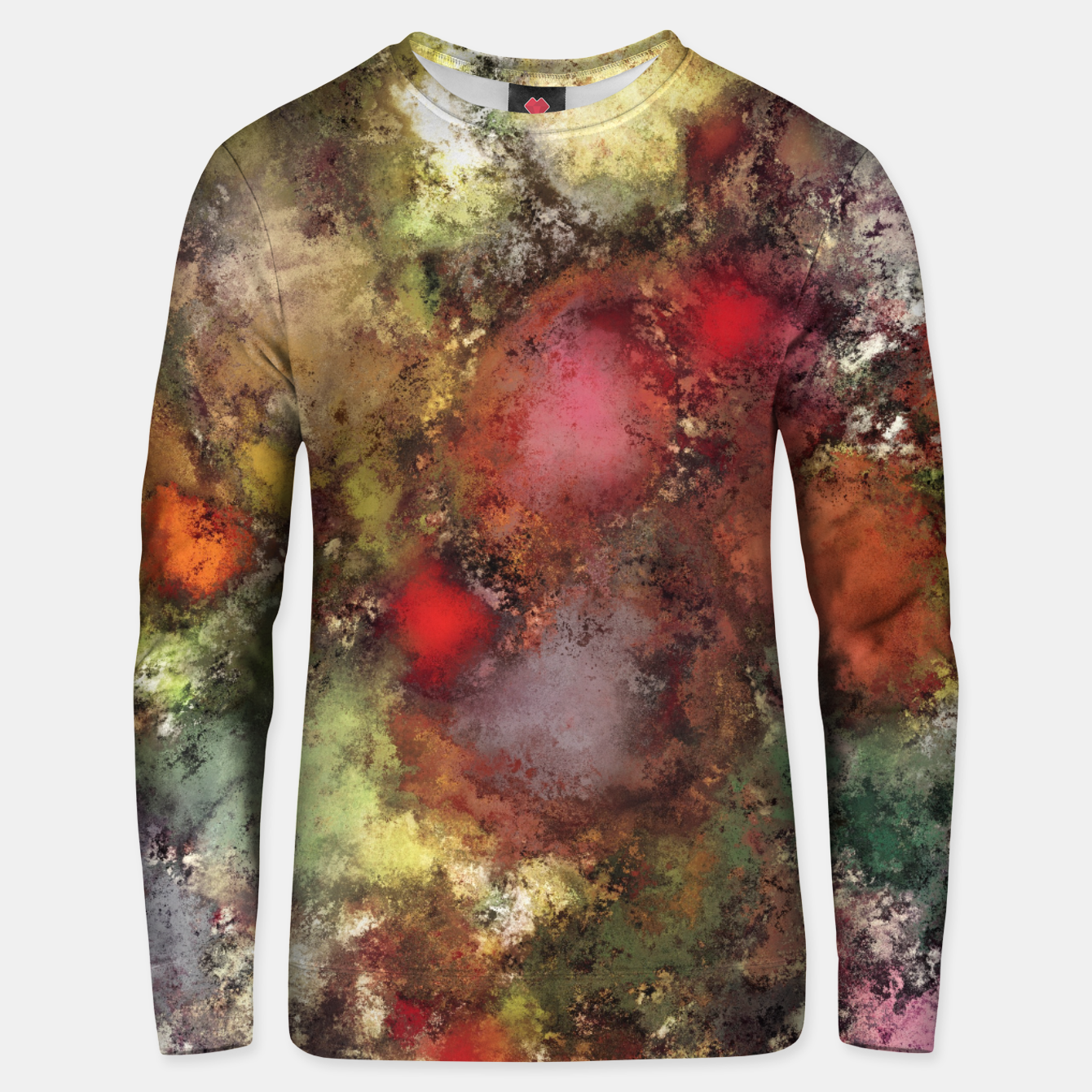 Image of A natural collision of rocks Unisex sweater - Live Heroes