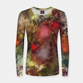 A natural collision of rocks Women sweater thumbnail image