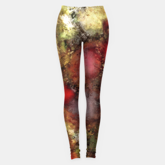 Thumbnail image of A natural collision of rocks Leggings, Live Heroes