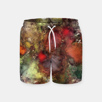 A natural collision of rocks Swim Shorts thumbnail image