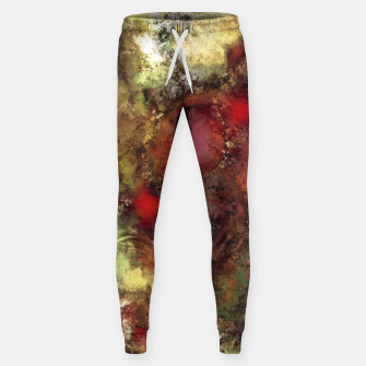 A natural collision of rocks Sweatpants thumbnail image