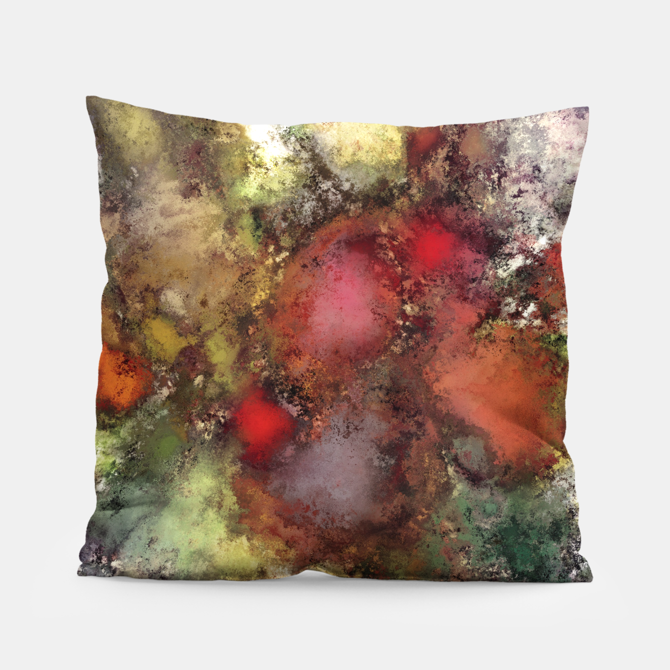 Image of A natural collision of rocks Pillow - Live Heroes